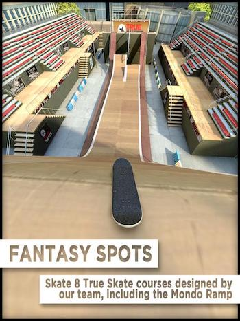 True Skate mod vô hạn tiền
