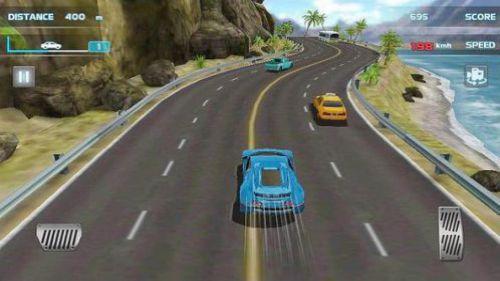 Turbo Driving Racing 3D tránh chướng ngại vật