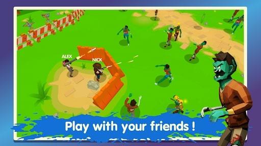 Two Guys & Zombies 3D mod vô hạn tiền