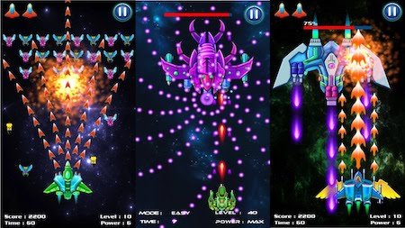 Galaxy Attack: Alien Shooter mod free shopping