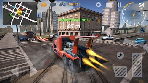 Game lái xe tải trên android
