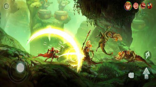 Unruly Heroes phiêu lưu hấp dẫn
