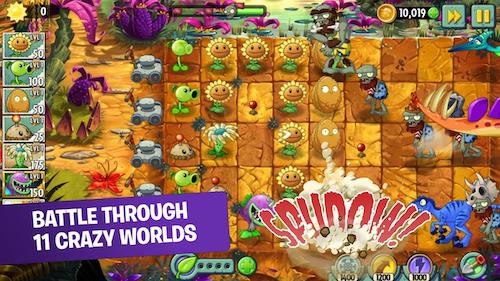 Game hoa quả nổi giận android