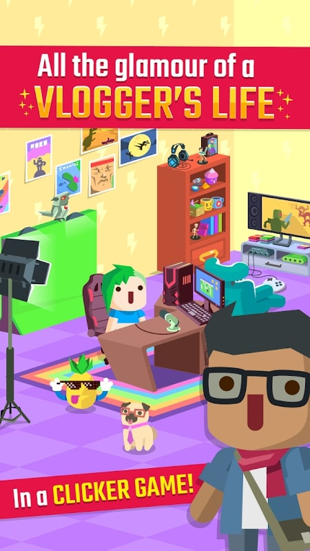 Tải game Vlogger Go Viral mod gems
