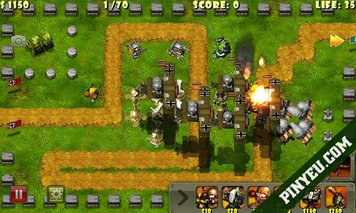 Little Commander game hay cho Android