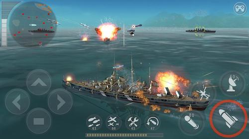 WARSHIP BATTLE 3D game bắn pháo di động
