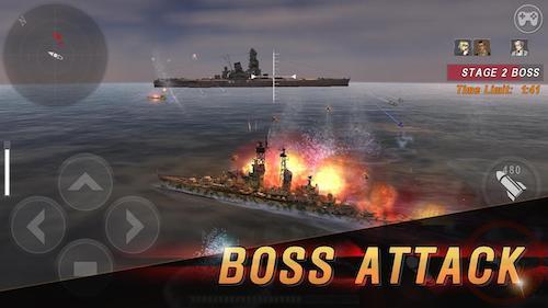 WARSHIP BATTLE game tàu chiến