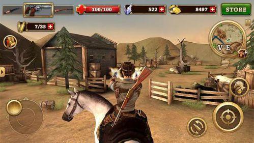 West Gunfighter bắn súng