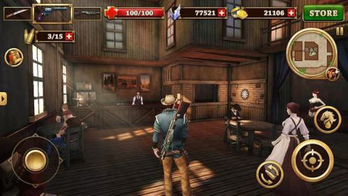 Game cao bồi viễn tây Android