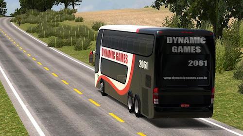 Game lái xe buýt mô phỏng trên điện thoại