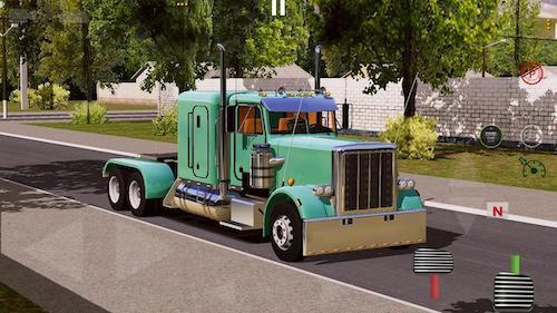 Game mô phỏng lái xe tải