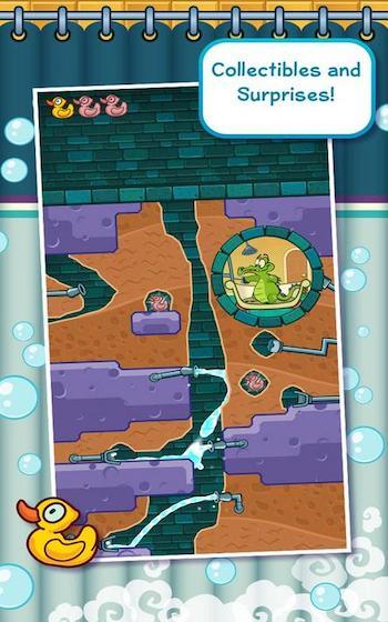 game cá xấu tắm Where's My Water mod apk