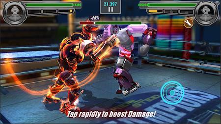 Real Steel Champions mod mở khóa nhân vật