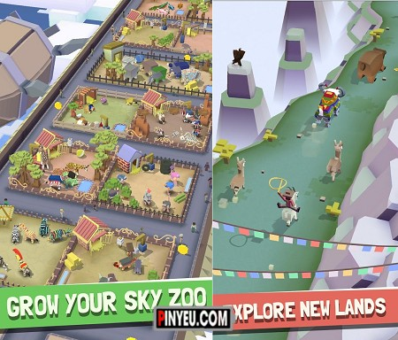 game Rodeo Stampede: Sky Zoo Safar cho dien thoai