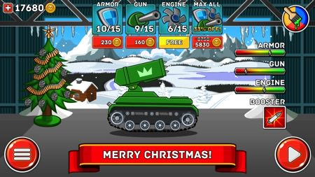 Hills of Steel cho dien thoai Android