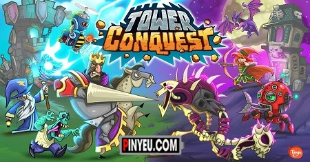 tai game Tower Conquest
