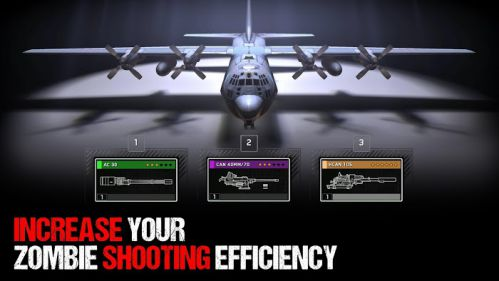 Zombie Gunship Survival mod ammo