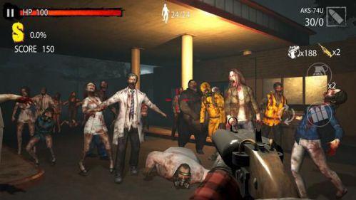 Zombie Hunter D-Day đồ họa 3d
