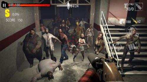 Zombie Hunter D-Day tiêu diệt zombie