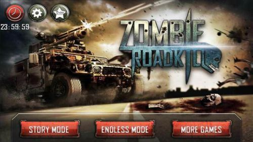Zombie Roadkill 3D đua xe bắn súng