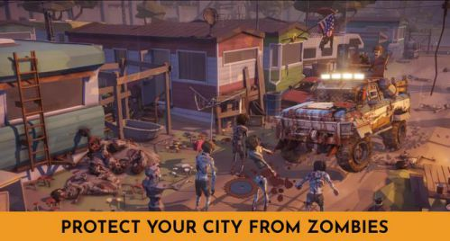 Zombie Survival Battle bắn súng