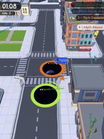 Hole.io cho Android iOS