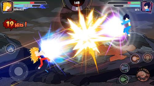 tải game Stickman Warriors mod sức mạnh
