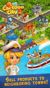 Cartoon City 2 mod vô hạn kim cương