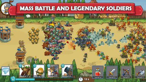Clash of Legions - Kingdom Rise chiến thuật