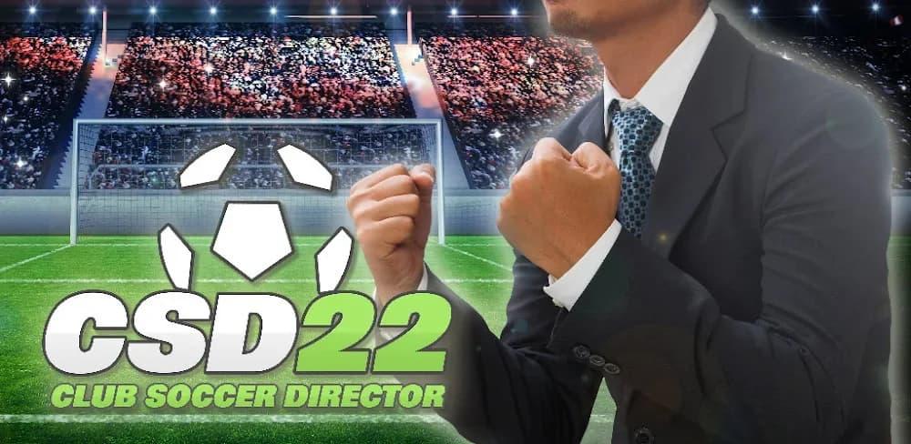 club soccer director 2022 hack apk