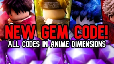Code Anime Dimensions Mới Nhất 2021