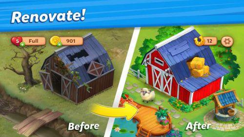 Farmscapes cải tạo nông trại