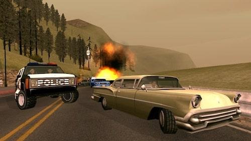 Game cướp đường phố GTA