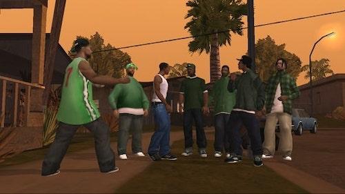 Grand Theft Auto: San Andreas mod vô hạn tiền