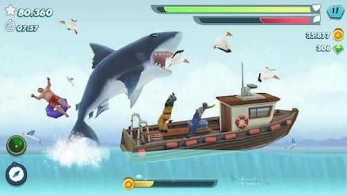 Tải Hungry Shark Evolution Hack hack vàng