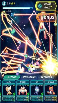 Idle Alien tấn công tàu xâm lượng