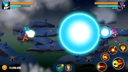 Stick warriors Super battle fight mod