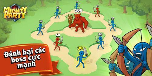 Mighty Party: Magic Arena MOD vô hạn tiền