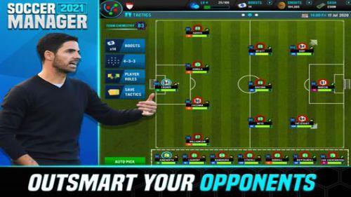 Soccer Manager 2021 quản lý đội bóng