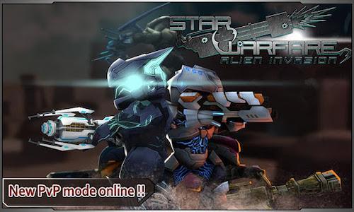 Star Warfare: Alien Invasion HD mod vô hạn tiền