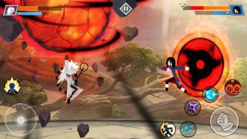 Stickman Shinobi game đối kháng hay