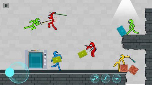 Supreme Stickman Fighting bắn súng