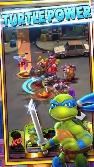TMNT Mutant Madness ninja rùa