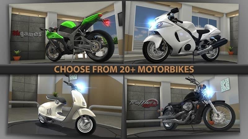 Tải Traffic Rider Mod Apk cho Android