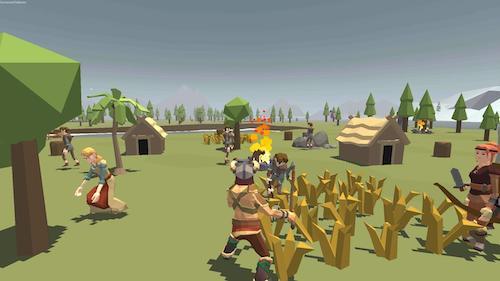 Viking Village Mod mở khóa