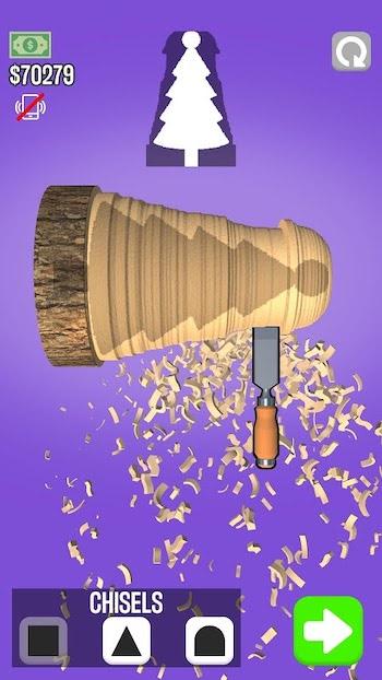 Woodturning mod money