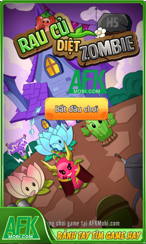 Rau Củ Diệt Zombie H5